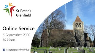 Online Service for St Peter's, Sunday 6 September 2020