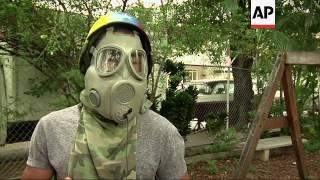 Protesters innovate in Venezuela clashes