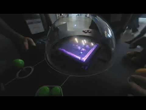 TGS 2018] Voxon Photonics Technology Drawing True 3D Images