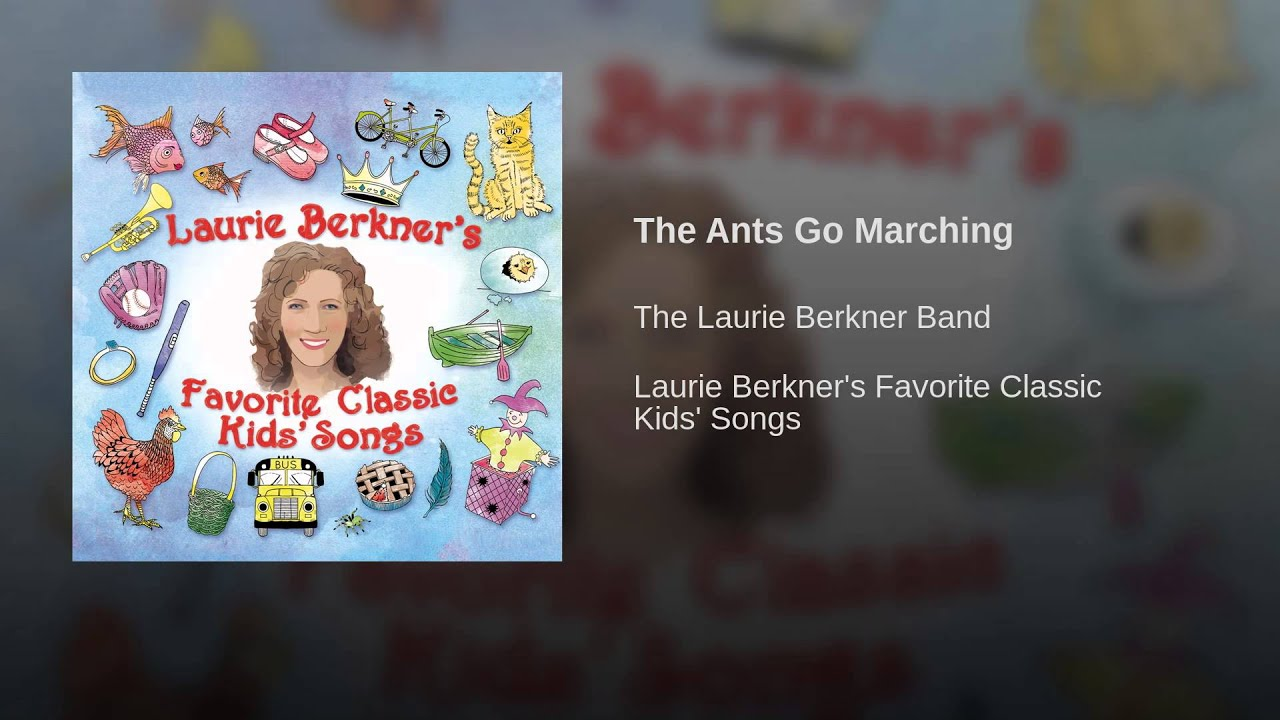 The Ants Go Marching by The Laurie Berkner Band - Playtime