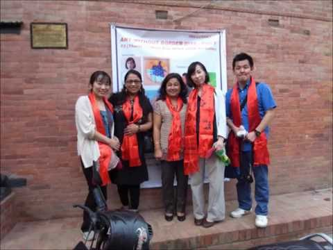 3rd Nepal Study Visit - Art Exhibition and visits in Kathmandu, Aug, 2015