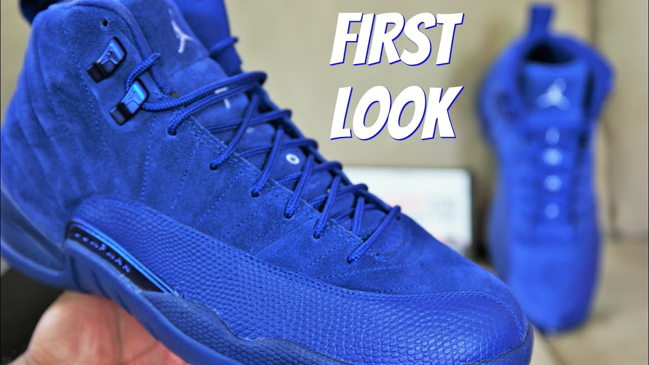 gear for blue suede jordan retro 12