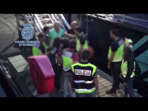 Así fue abordado el pesquero que iba a alta mar por la droga