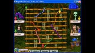 Hoyle Board Games 4 (2000) - Snakes & Ladders 01 (2 of 2)[720p]