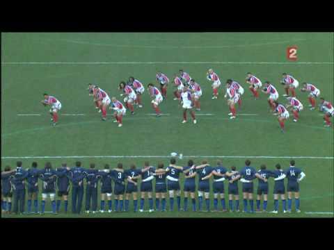 """[rugby] """"Triple haka"""" des Pacific Islanders (ou Highlanders^^)"""