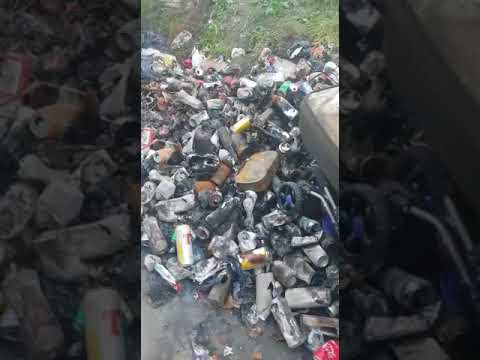 Illegal dumping captured in Dublin post-Christmas