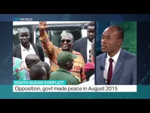 South Sudan Conflict: Opposition leader Riek Machar leaves country, Fidelis Mbah weighs in