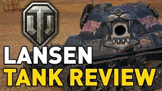World of Tanks || Lansen C - Tank Review