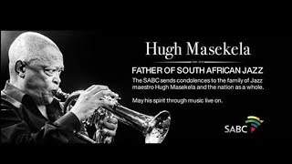 Memorial service for Hugh Masekela: 26 January 2018