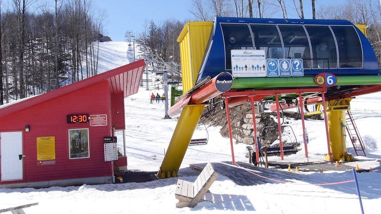 Versant des Épinettes #6 - Bromont, montagne d'expériences / Poma Quad Chairlift