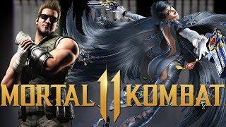 MORTAL KOMBAT 11 - Johnny Cage, Bayonetta, and More