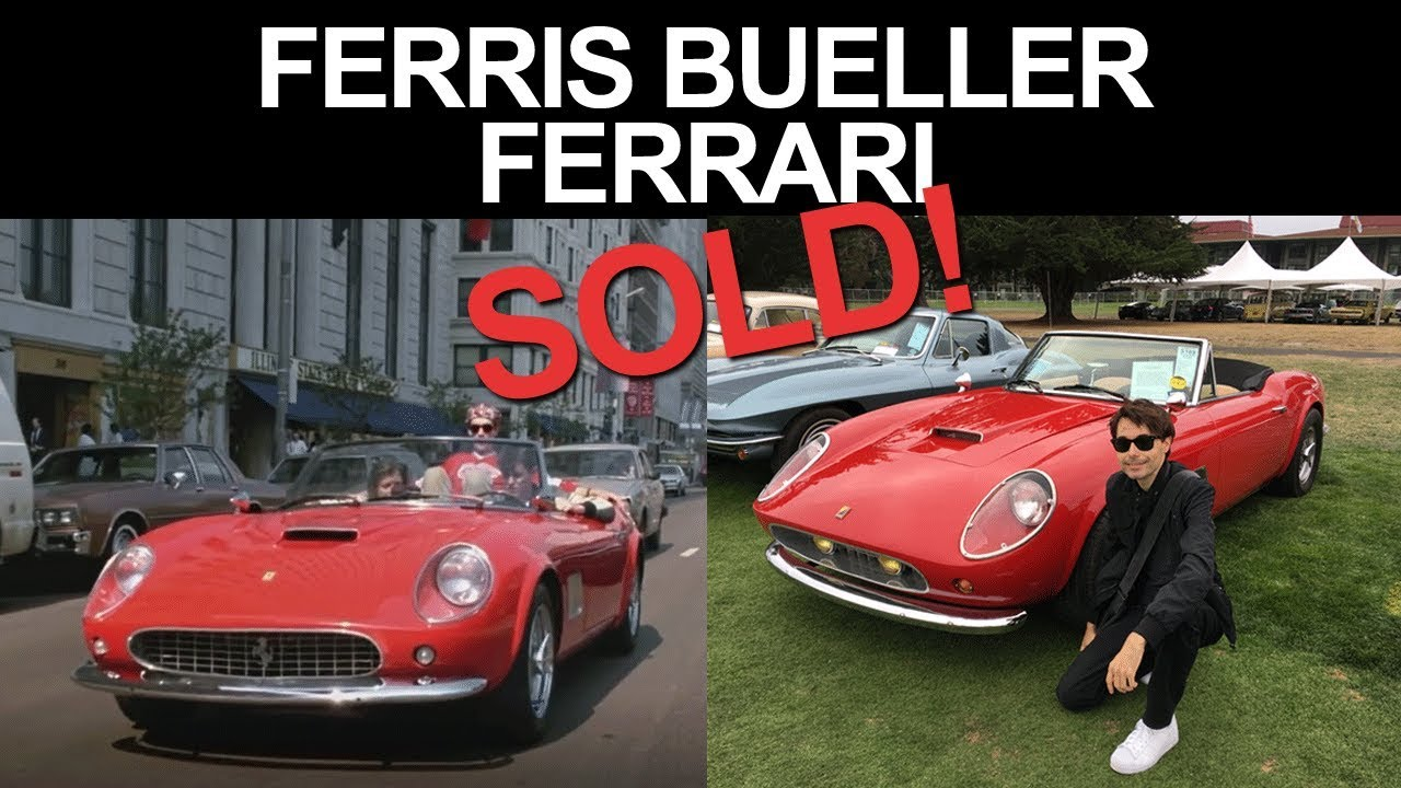 Ferris Bueller Ferrari Sold Youtube