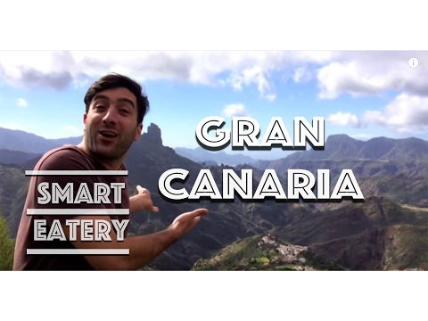 CANARY ISLANDS, GRAN CANARIA. CANARIAN FOOD