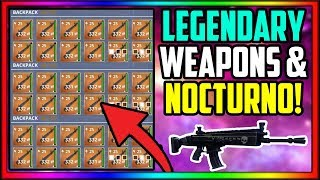 Fortnite Save The World How To Get Good Weapons Fast At The Start (Nocturno Schematic)