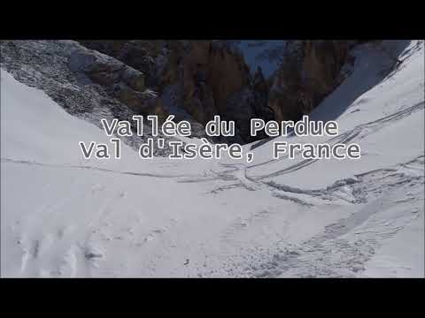 Best Ski Run in Europe! Vallée Perdue in Val d'Isère.