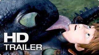 DRACHENZÄHMEN LEICHT GEMACHT 2 Trailer Deutsch German | 2014 Official [HD]
