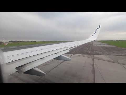 Ryanair Boeing 737-800 - Take-off At Manchester Airport MAN To Gothenburg GOT.