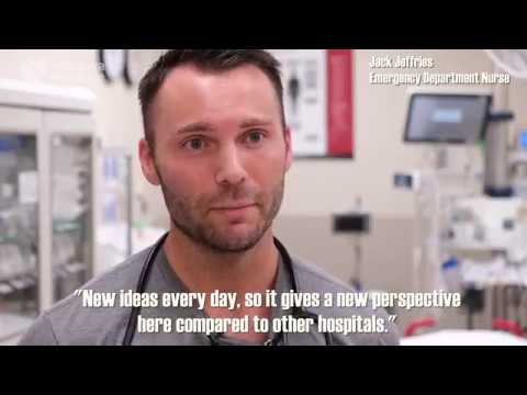 My Job in a Minute: Emergency Department Nurse - Nebraska Medicine
