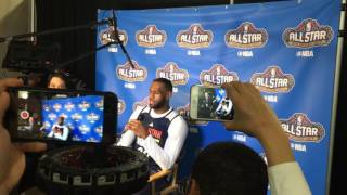 Lebron James discusses his All-Star weekend