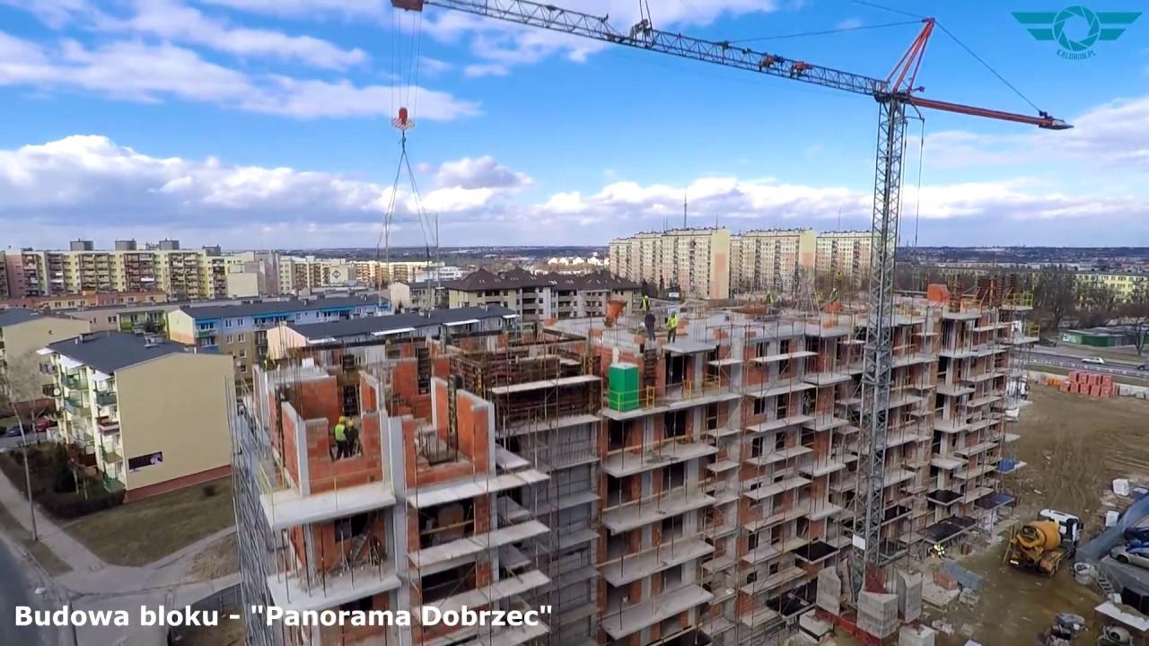 Przegląd inwestycji w Kaliszu z drona - marzec 2017