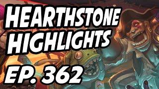 Hearthstone Daily Highlights | Ep. 362 | DisguisedToastHS, AmazHS, nl_Kripp, Savjz, itsHafu
