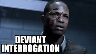 DETROIT Become Human - Deviant Interrogation Scene - Best Outcome