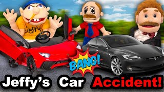 SML Movie: Jeffy's Car Accident!