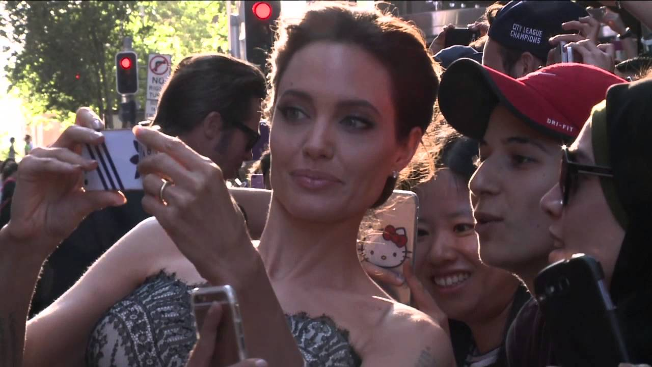 Unbroken Angelina Jolie Miyavi Cast S Arrivals At Australian World Movie Premiere