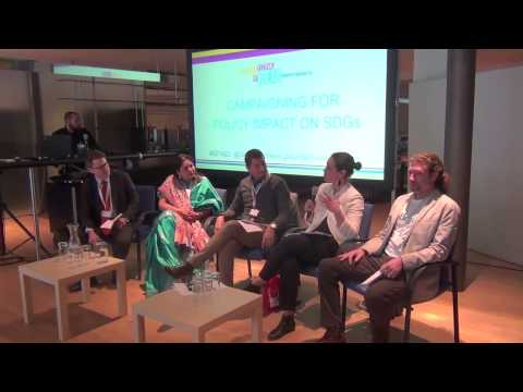 Panel Session - Campaigning for Policy Impact on the Sustainable Development Goals