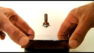 "Home-Made Levitron - Levitating Top - Magnetic Gyroscopic ""Anti-Gravity"" DIY"