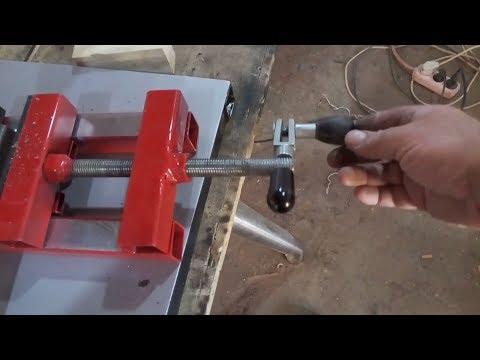 How to Make Drill Press Vise / Matkap mengenesi nasıl yapılır