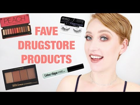 Current Favourite Drugstore Makeup! Great For Pale Skin