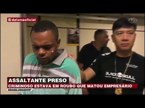 Criminoso Envolvido Em Latrocínio Em SP é Preso