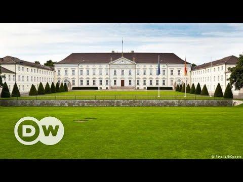 Almanya'nın mütevazı Cumhurbaşkanlığı Sarayı: Bellevue - DW Türkçe