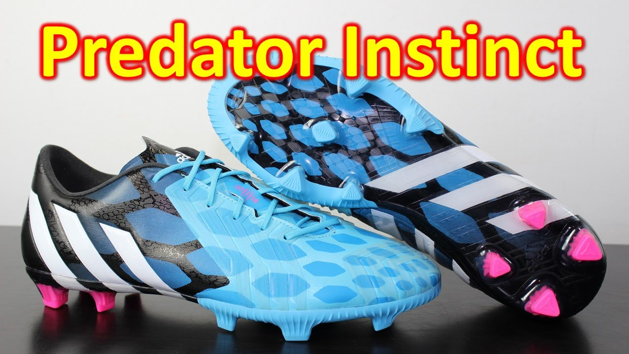 441cf3df7069 Adidas Predator Instinct Solar Blue Neon Pink - Unboxing + On Feet ...