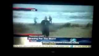 Gangnam Style Hurricane Sandy Style