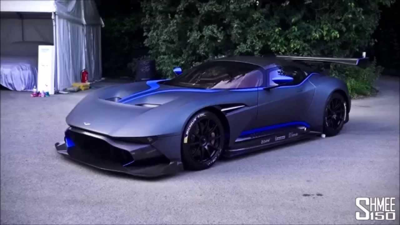 Aston Martin Vulcan The New Car Monster Of Usa Legend