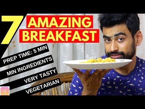 7 Quick & Healthy Breakfast Options For The Week (Ditch The Paranthas)