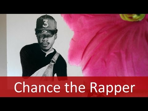 Chance the Rapper on Billboard Magazine Drawing