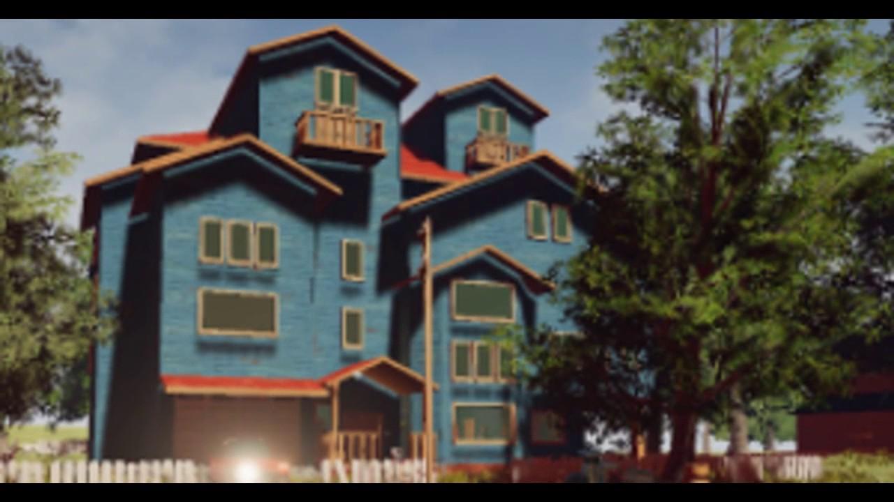 The hello neighbor house - Hello Neighbor Alpha 3 2 Final And Pre Alpha House