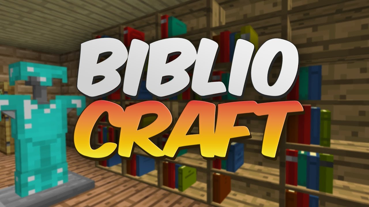 3D Bookcases In Minecraft