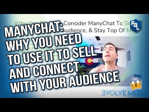 ManyChat Messenger Bot Cheat Sheet