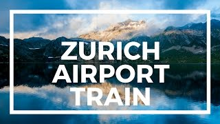 Gambar cover How to take train from Zurich Airport (flughafen)