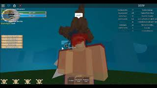 ROBLOX.my first video . Welcome to my channel . Ope Ope fruit showcasing (One piece golden age