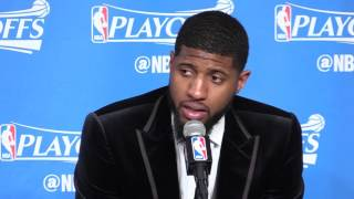 Paul George: 'I got to get the last shot' – Cavs vs. Pacers Game 1