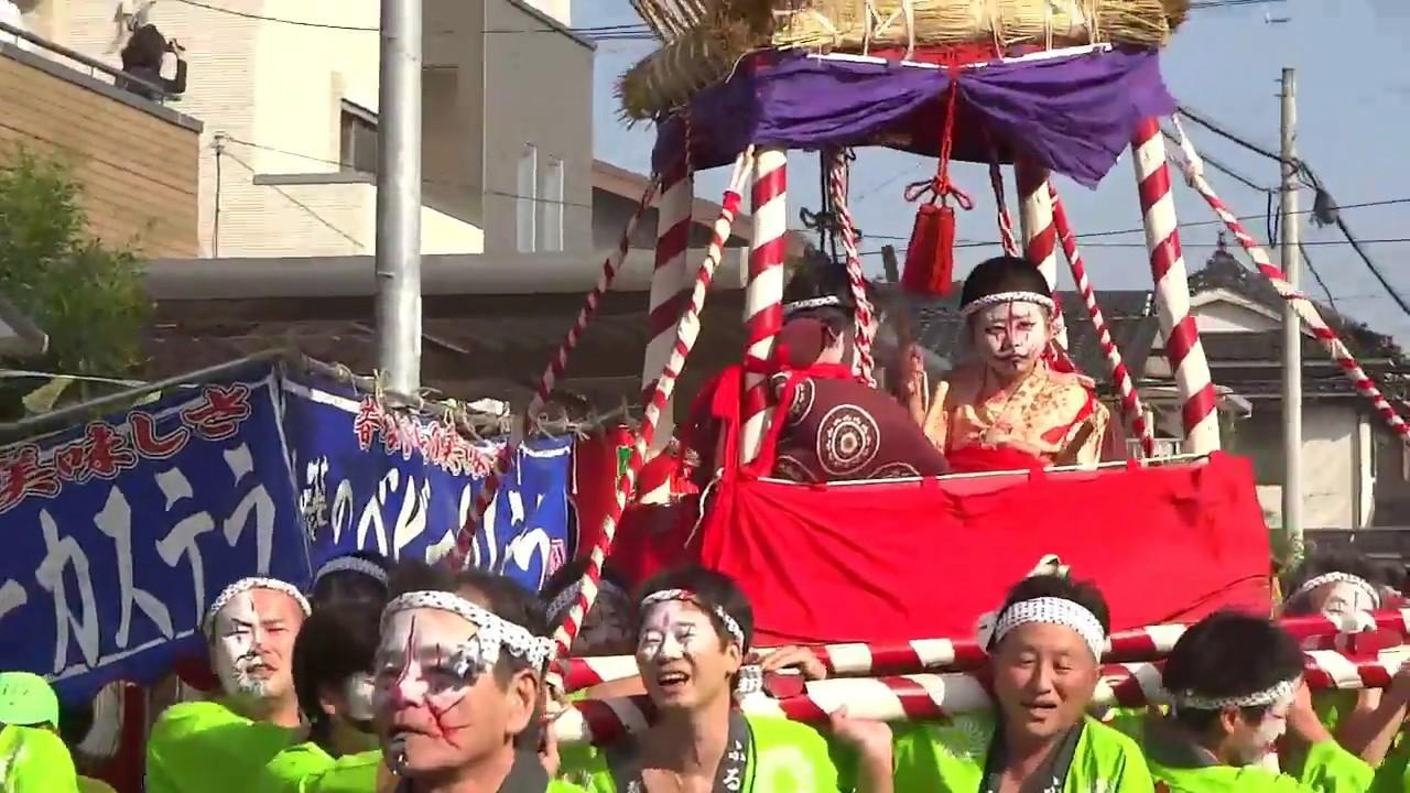 狐の嫁入り2017 下松市 - YouTube