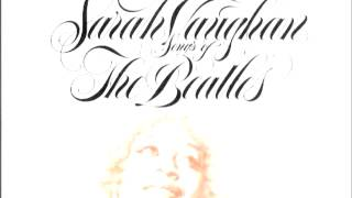 songs of the beatles - Sarah Vaughan - rearrange