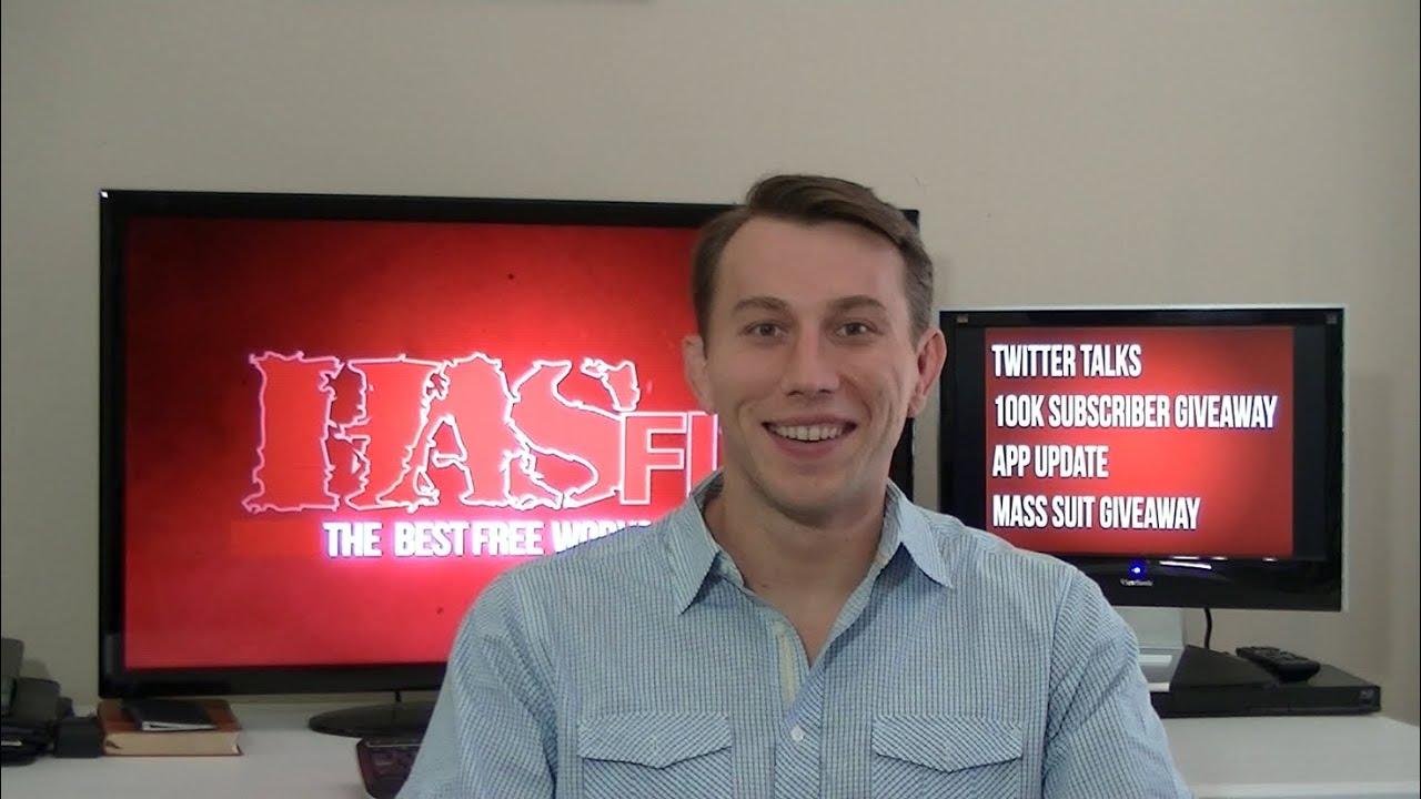 Coach Kozak's VLog - Twitter Talks, HASfit App Update, New ...