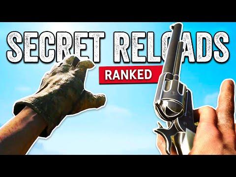 Secret & Beautiful Reload Animations in Battlefield Games  