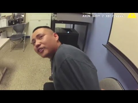 Man with roller coaster emotions tests APD officer's patience